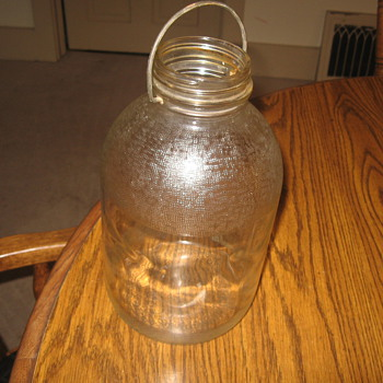 Duraglas jar