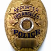 L.A. Police Reporter Badge