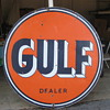 GULF OIL SIGN