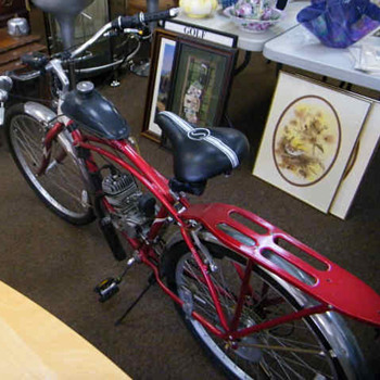 Classic Schwinn Motor Bicycle