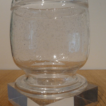 KAJ FRANCK SARGASSO VASE  - Art Glass