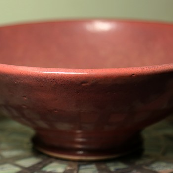 Odd Glazed Bowl