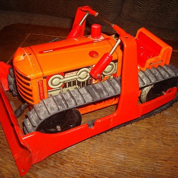 Marx Bulldozer Tractor - Model Cars