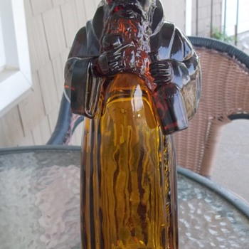 Amber Monk Decanter