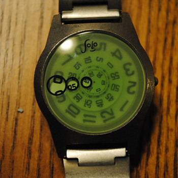 Jojo Jump Hour Watch - Wristwatches