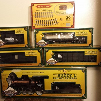 Buddy L limited edition g scale Railway Express