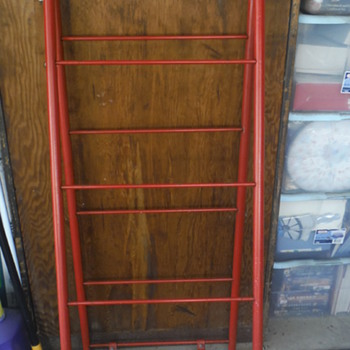 A Frame Display Rack