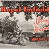 1954 Royal Enfield Motorcycles Spring-Frame Line