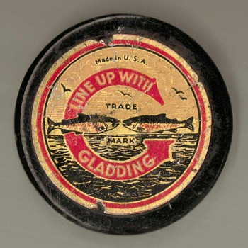 1940's - Gladding Braided Fishing Line - Fishing