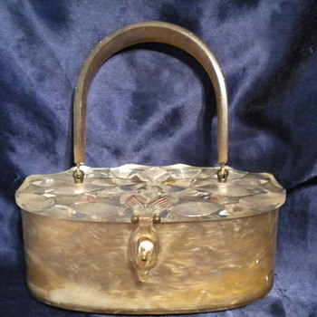Original Rialto carved Lucite purse - Bags