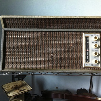 Ge radio stereo record player - Radios