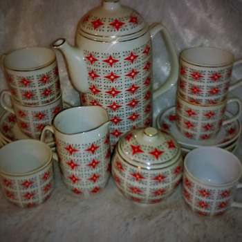 Hollohaza demitasse set