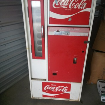 Trying to find information on my Coke machine - Coca-Cola