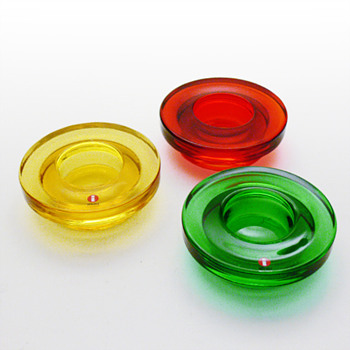 HALO candleholders, Harri Koskinen (Iittala, 1999)