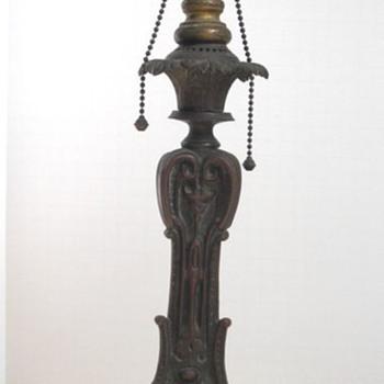 Art Nouveau Lamp Base
