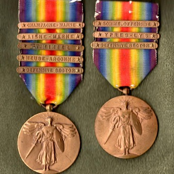 Victory Medals for All Divisions of the AEF, Part 2 - Military and Wartime