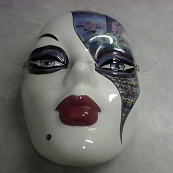 BERNICE A. HOROWITZ MASK - Art Pottery