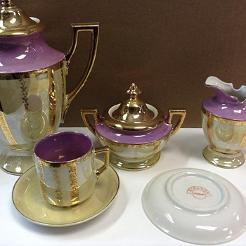 Information on tea set - China and Dinnerware