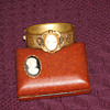 Victorian Bracelet with Cameo...and Cameo Brooch...