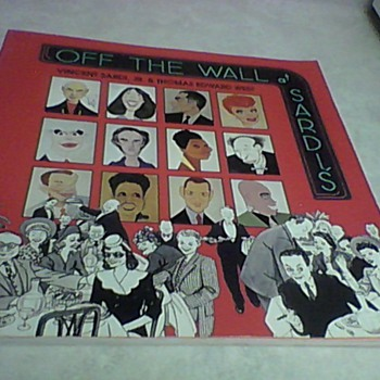 OFF THE WALL AT SARDI'S