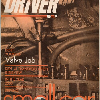 "USAF ""Driver"" Magazine - Jan. 1970 - Paper"