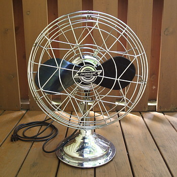 Vintage Chrome Freshn'd-Aire Circulator Fan