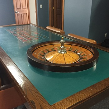 Roulette Table vintage - handed down to my father