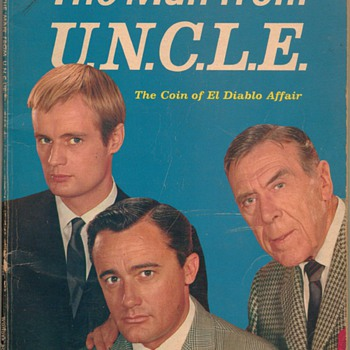 1965 The Man from U.N.C.L.E - Books