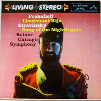 Rca Living Stereo record label 1958 - 1965, exsamples from my collection - Records