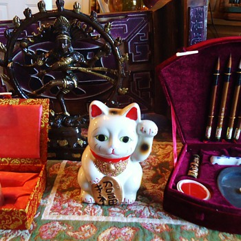 """I Will Now Win the LOTTERY"" With Chinese lucky Cat!!  And more!! - Asian"
