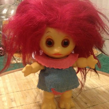 "Rare L.Khem "" Moon Goon"" Troll Doll all Original - Dolls"