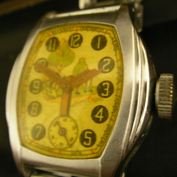 1937 Official Boy Scout Wrist Watch - Variation 2 - Wristwatches