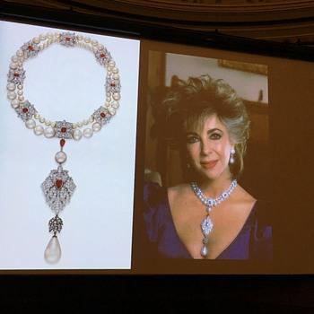 La Peregrina pearl with Elizabeth Taylor/Burton - Fine Jewelry