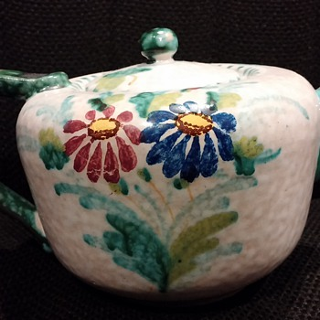 Italian Handpainted Tea Set