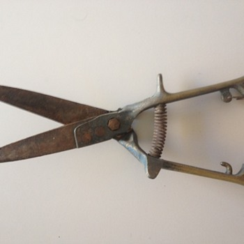 Old Brass Grass Clippers - Tools and Hardware