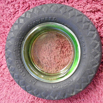 small Goodyear tire ashtray