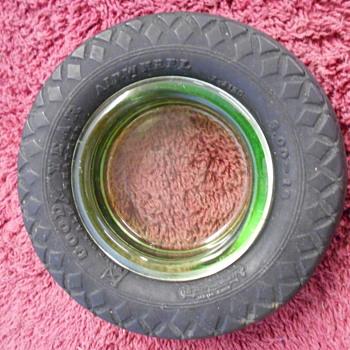 small Goodyear tire ashtray