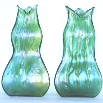 LOETZ, PALLME KOENIG AND A PECULIAR RIM SHAPE - Art Glass
