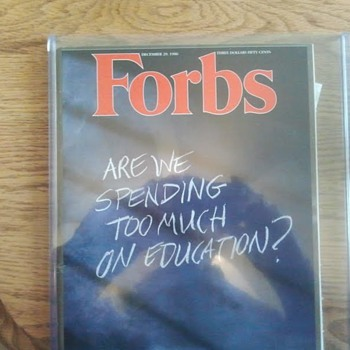 Forbes misprint - Paper