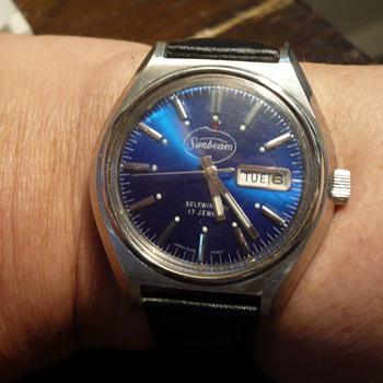 2nd Advertising Wristwatch Sunbeam with Hamazawa movement  - Advertising