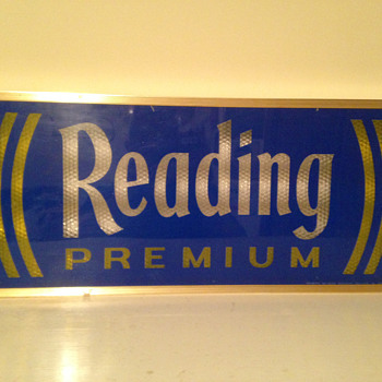 Reading Premium Beer Light