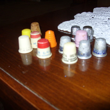 advertising thimbles - Sewing