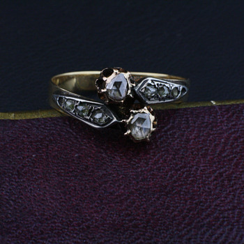 Toi et moi ring - Fine Jewelry