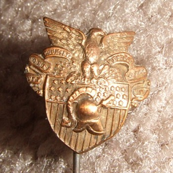USMA, West Point crest stick pin pre- 1923