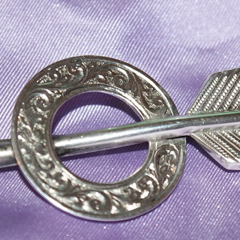 Victorian Silver Arrow Pin - Fine Jewelry