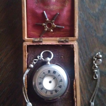 Remontoir wind key pocket watch