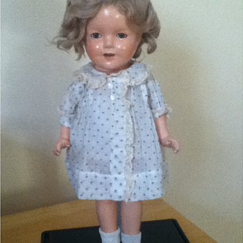 1930s Shirley Temple Doll - Dolls
