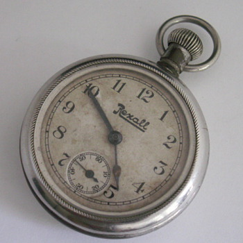 Ingersoll, Rexall Drug Store Advertising Watch - Pocket Watches