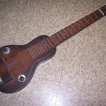 Steel guitar. - Guitars