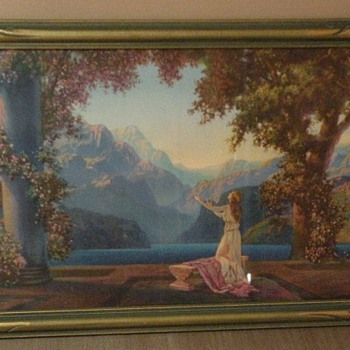 Are these Maxfield Parrish?? - Posters and Prints